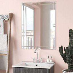 Frameless Wall Mirror   Wayfair North America