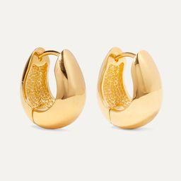 Gold Gold vermeil hoop earrings | Sophie Buhai | NET-A-PORTER | Net-a-Porter (UK & EU)