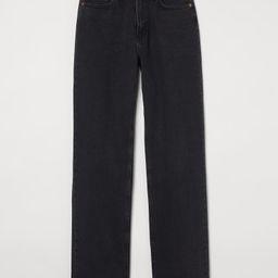 Straight High Jeans | H&M (DE, AT, DK,  HU, NL, NO, FI, PO, SE)