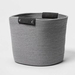 """13"""" Coiled Rope Gray - Threshold™ 