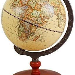 Vintage 5 inch Diameter Brown World Globe Antique Decorative Desktop Globe Rotating Earth Geograp... | Amazon (US)