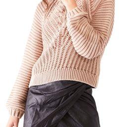 Sweetheart Mock Neck Sweater | Nordstrom