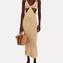 Serita Cut-Out Knit Maxi Dress | INTERMIX