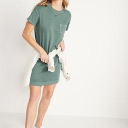 Vintage Garment-Dyed T-Shirt Shift Dress for Women | Old Navy (US)