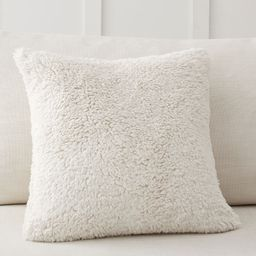 Faux Sheepskin Pillow Covers | Pottery Barn (US)
