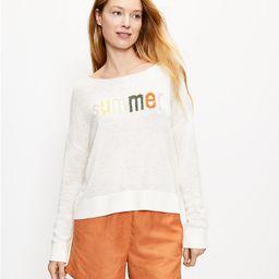 Summer Sweater   LOFT   LOFT