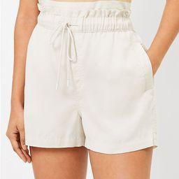 Pull On Shorts in Soft Twill   LOFT   LOFT