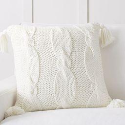 Bluma Handknit Pillow Covers | Pottery Barn (US)