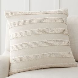 Damia Handwoven Textured Pillow Cover | Pottery Barn (US)