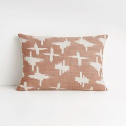 """Sirocco 22""""x15"""" Baked Clay Pillow with Down-Alternative Insert + Reviews 
