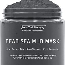 New York Biology Dead Sea Mud Mask for Face and Body - Spa Quality Pore Reducer for Acne, Blackhe... | Amazon (US)