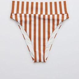 Aerie Printed High Cut Cheeky Bikini Bottom | American Eagle Outfitters (US & CA)