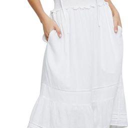 Ashlyn Stripe Linen Blend Dress   Nordstrom