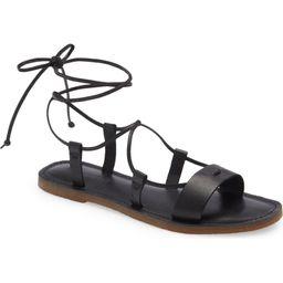 The Boardwalk Lace-Up Sandal | Nordstrom