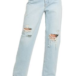 The Dadjean Ripped High Waist Jeans | Nordstrom