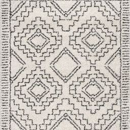 Off White Tribal Moroccan Tassel Area Rug   Rugs USA