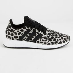 ADIDAS Swift Run Black & White Womens Shoes | Tillys