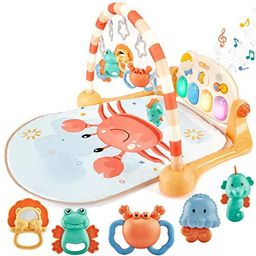 Baby Play Mat for Baby Gym Baby Play Gym Activity Mat, Infant Toys Baby Toys 3-6 Months 6 to 12 M...   Amazon (US)