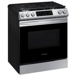 "Smart Kitchen Range 30"" 6 cu. ft. Smart Slide-In Gas Range | Wayfair North America"
