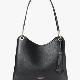 Kate Spade Loop Large Shoulder Bag, Black | Kate Spade (US)
