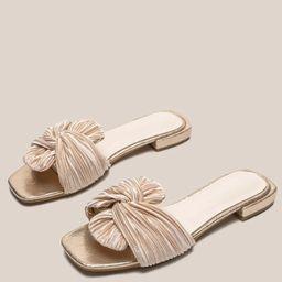 Knot Decor Slide Sandals | SHEIN