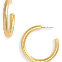 Chunky Medium Hoop Earrings | Nordstrom