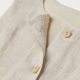 Sleeveless Cotton Romper Suit   H&M (US)
