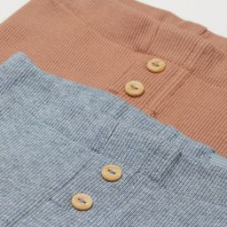2-pack Cotton Shorts   H&M (US)