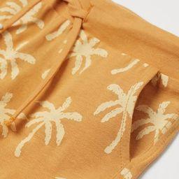 Cotton Jersey Shorts   H&M (US)