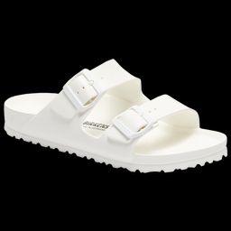 Birkenstock Arizona Eva Sandals - Men's Outdoor Sandals - White, Size 9.0   Eastbay
