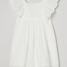 Eyelet Embroidery-detail Dress   H&M (US)