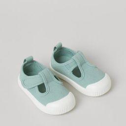 Cotton Canvas Sandals   H&M (US)