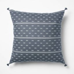 Woven Dobby Throw Pillow Blue/Neutral - Threshold™ designed with Studio McGee | Target