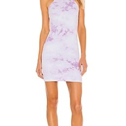 Frankies Bikinis X REVOLVE Christine Ribbed Mini Dress in Lilac Tie Dye from Revolve.com | Revolve Clothing (Global)