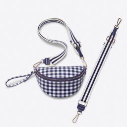 Convertible Belt Bag in Gingham | Draper James (US)