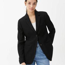 Slim Linen Blend Blazer | ARKET