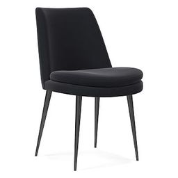 Finley Low Back Dining Chair - Shadow   West Elm (US)
