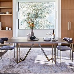 Tower Dining Table - Concrete   West Elm (US)