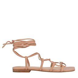Mahalia Strappy Flat Sandal   Marc Fisher