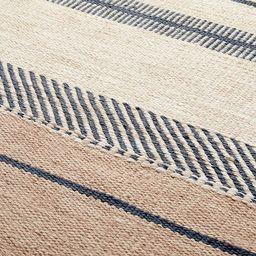 Beach Stripe Indoor/Outdoor Rug | West Elm (US)