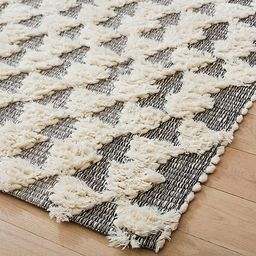 Textured Triangles Rug | West Elm (US)
