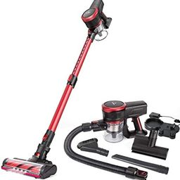 MOOSOO Cordless Vacuum Cleaner, 23Kpa Stick Handheld Vacuum with Brushless Motor Multi-attachment... | Amazon (US)