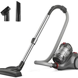 MOOSOO Bagless Canister Vacuum Cleaner, Pet Friendly Lightweight 19Kpa Powerful Vacuum with Cyclo... | Amazon (US)