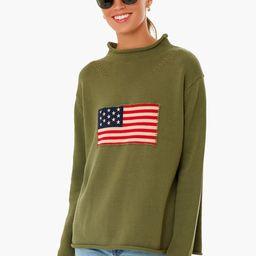 Vintage Green Americana Sweater | Tuckernuck (US)