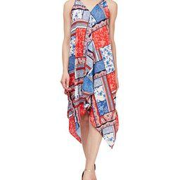 Bandana-Print Handkerchief-Hem Dress | Macys (US)