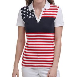 Printed Striped Cotton Polo, Created for Macy's | Macys (US)