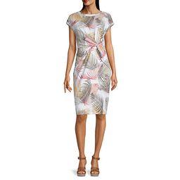 Liz Claiborne Short Sleeve Sheath Dress | JCPenney