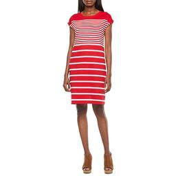 Liz Claiborne Short Sleeve Shirt Dress | JCPenney