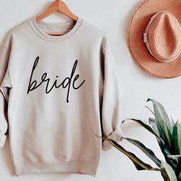Bride Sweatshirt, Bride Gift, Mother of the Bride, Engagement Gift, Bridal Shower Gift, Engagemen... | Etsy (US)