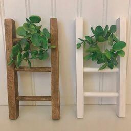 Mini Wood Ladder, Tiered tray ladder, mini ladder, farmhouse mini ladder, small ladder, ladder de...   Etsy (US)